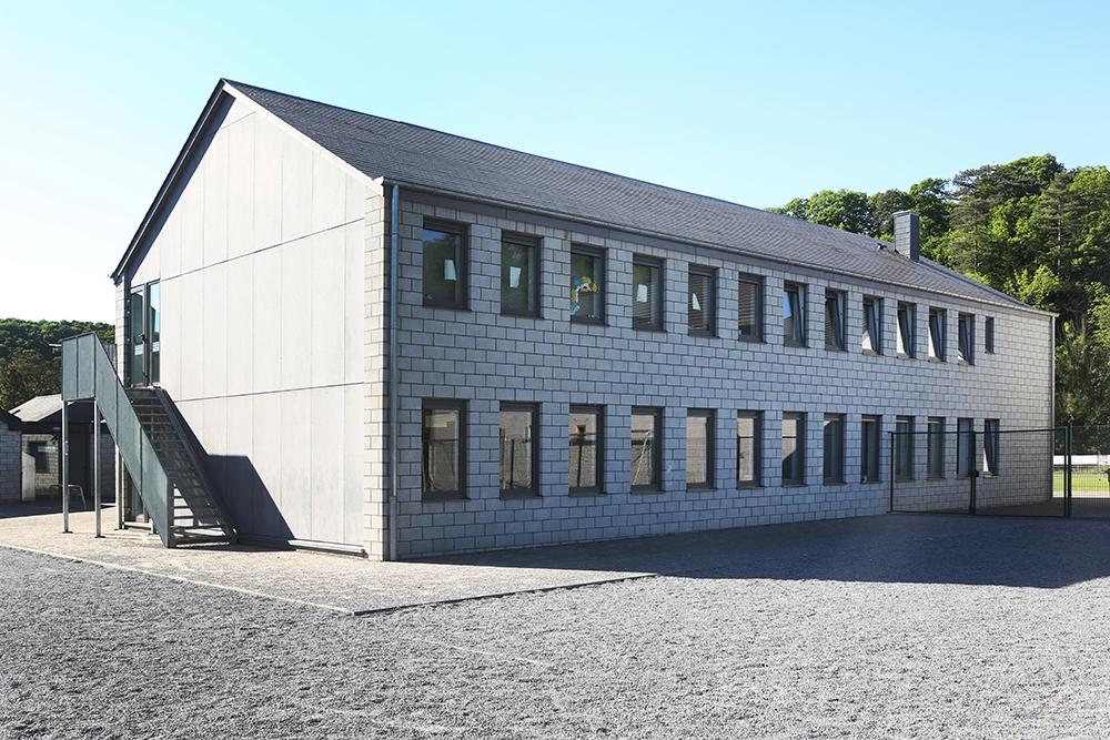 Extension d'une école